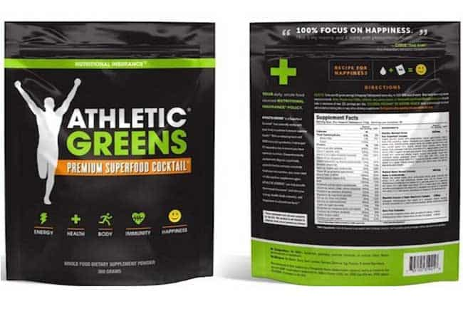 Athletic Greens Review - SuperGreens Powder Supplement