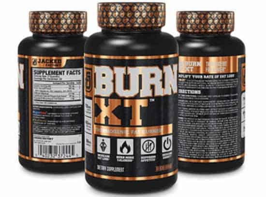 What are the ingredients of Burn-XT