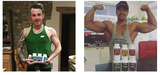 Results using legal bodybuilding suppelements