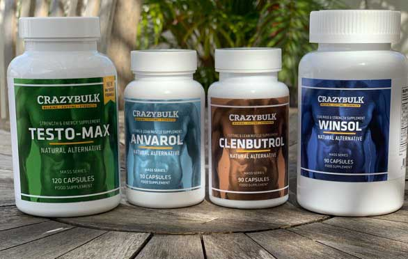 Crazy Bulk's natural steroid alternatives