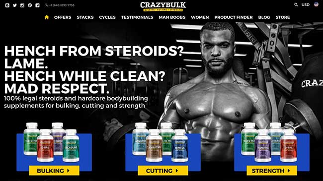 Crazy Bulk reviews of the legal steroid product range