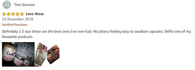 Cute Burner Capsules reviews from customers