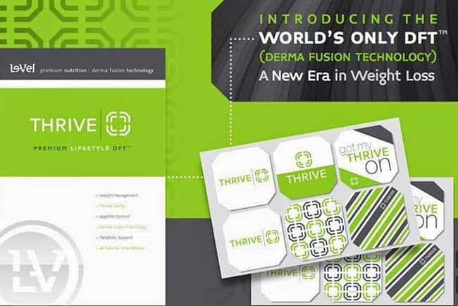 Le Vel Thrive Patch with derma fusion technology