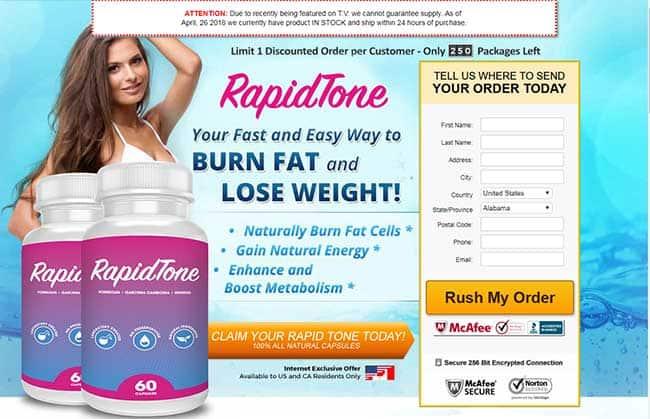 RapidTone website