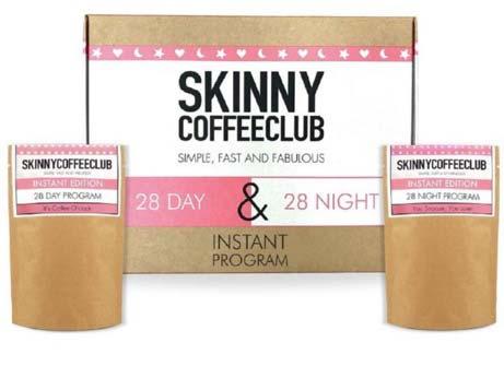 Skinny Coffee Club 28 day and 28 night