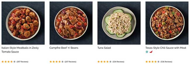 South Beach Diet dinner examples