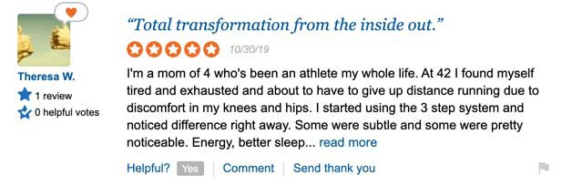 Le-Vel positive Thrive review