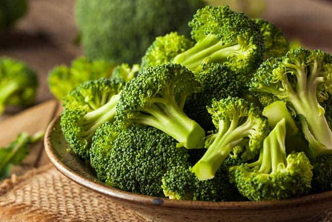 Broccoli reduces hunger