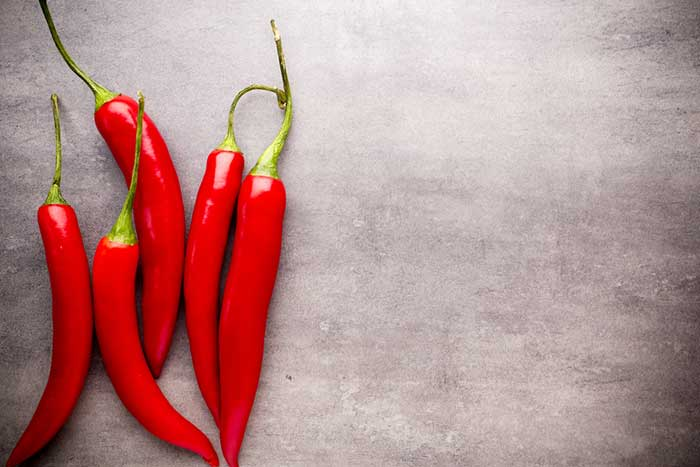Chilli peppers can reduce hunger