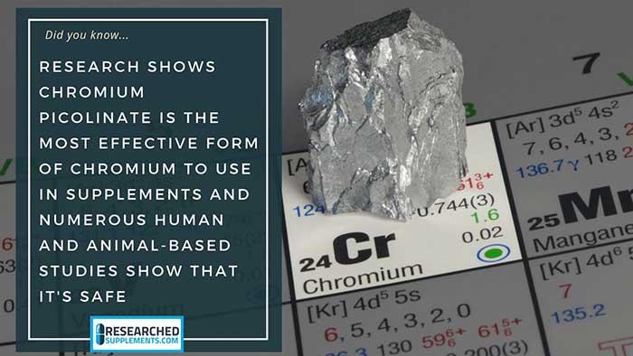 chromium picolinate weight loss benefits