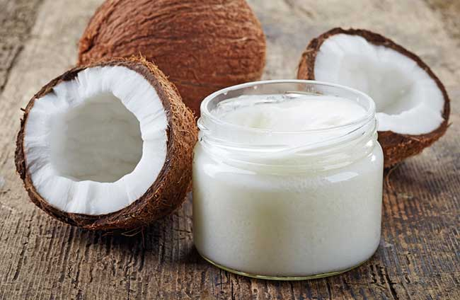 Coconut oil is a effective fat burning food