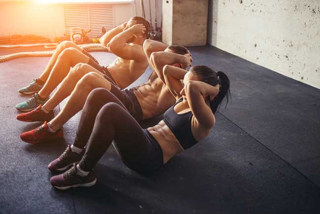 Core muscles - how to strengthen