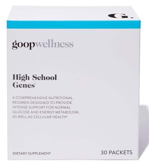 High School Genes by Goop