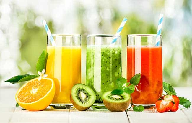 Juices for losing weight