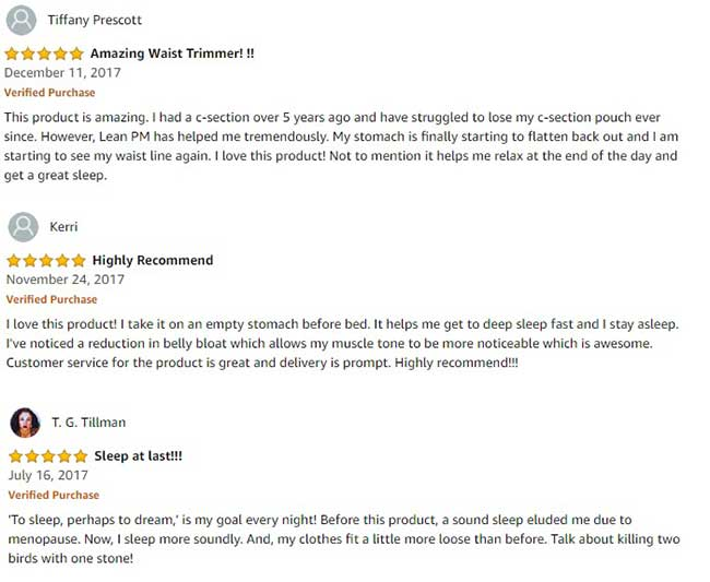 Lean PM positive reviews from customers