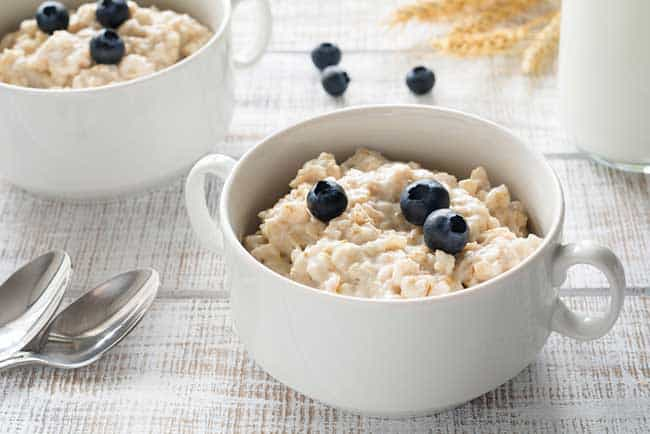 Oatmeal appetite suppressant