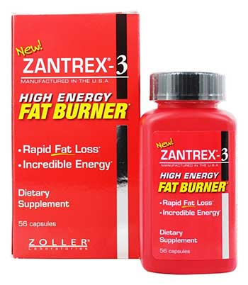 Red High Energy Fat Burner